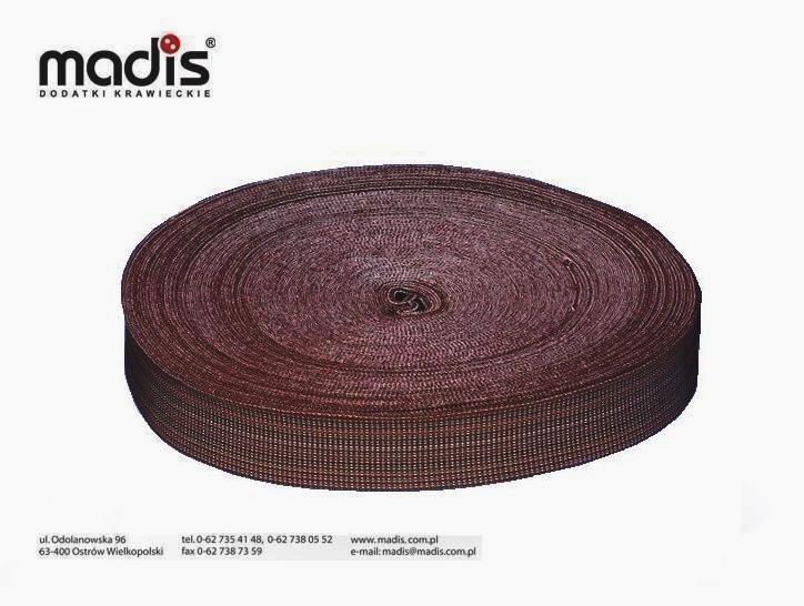 Pas tapicerski 5,5cm elastyczny 60%