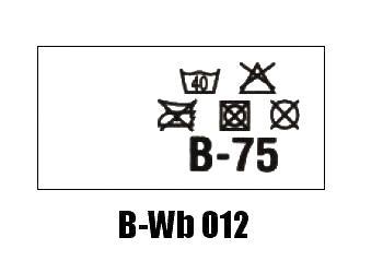 Wszywki biustonoszowe B-Wb 012 B-75
