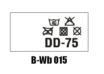 Wszywki biustonoszowe B-Wb 015 DD-75