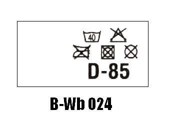 Wszywki biustonoszowe B-Wb 024 D-85