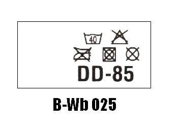 Wszywki biustonoszowe B-Wb 025 DD-85
