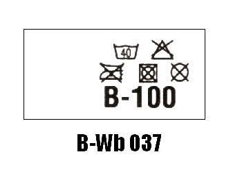 Wszywki biustonoszowe B-Wb 037 B-100