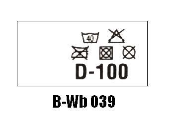 Wszywki biustonoszowe B-Wb 039 D-100