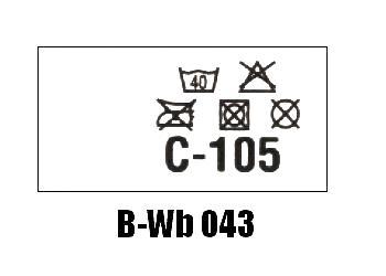 Wszywki biustonoszowe B-Wb 043 C-105