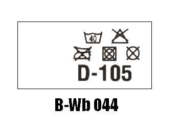 Wszywki biustonoszowe B-Wb 044 D-105