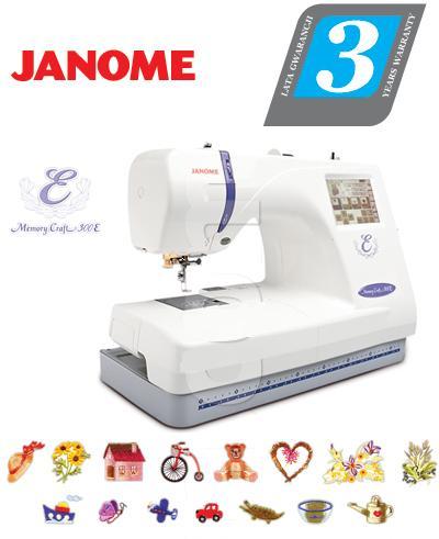 Hafciarka JANOME MEMORY CRAFT 350E