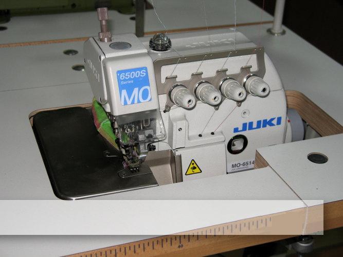Overlock JUKI 3-nitkowy mereżka MO-6504S-0A4-15