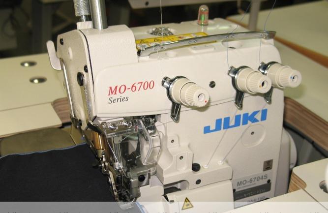 Overlock JUKI 3 nitkowy mereżka MO-6704S-OA4-150