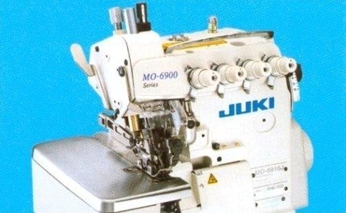 Overlock JUKI 3 nitkowy z transportem górnym MO-6904J