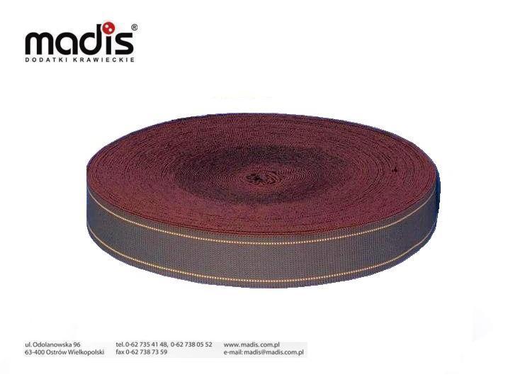 Pas tapicerski 6cm elastyczny 100%